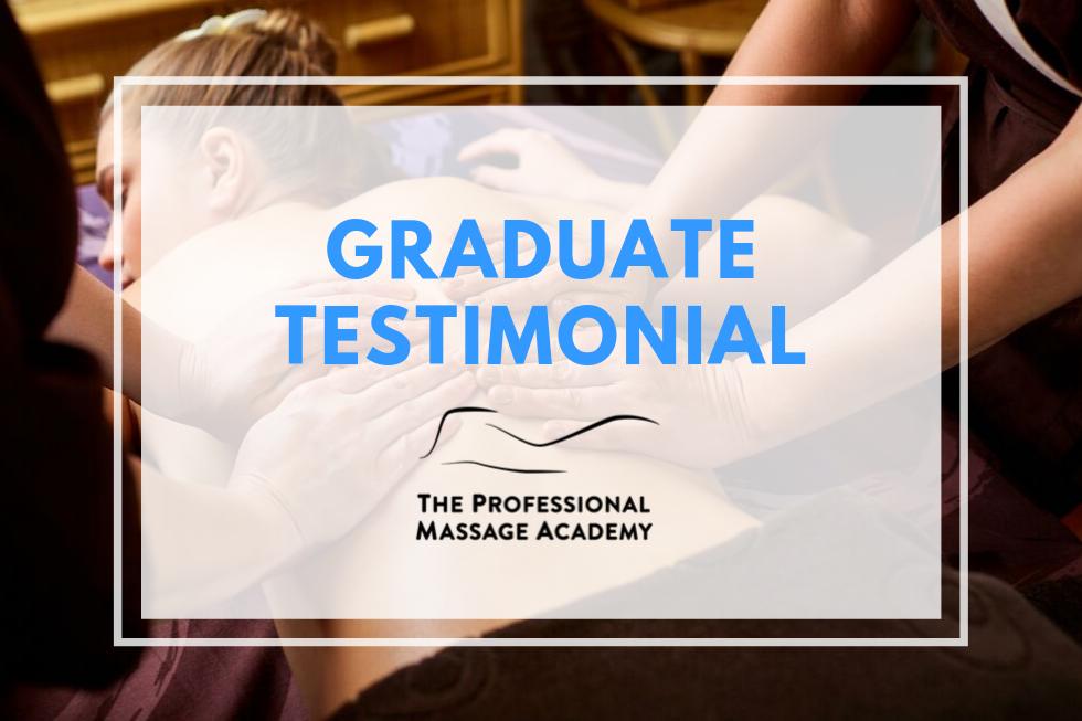 PMA Graduate Testimonial